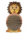 Dieren lampion leeuw 22 cm